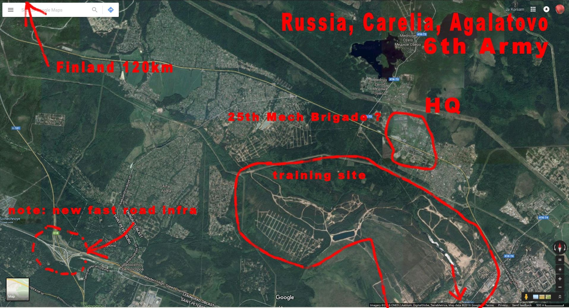 Yanishpole Carelia Russia New militarization on process