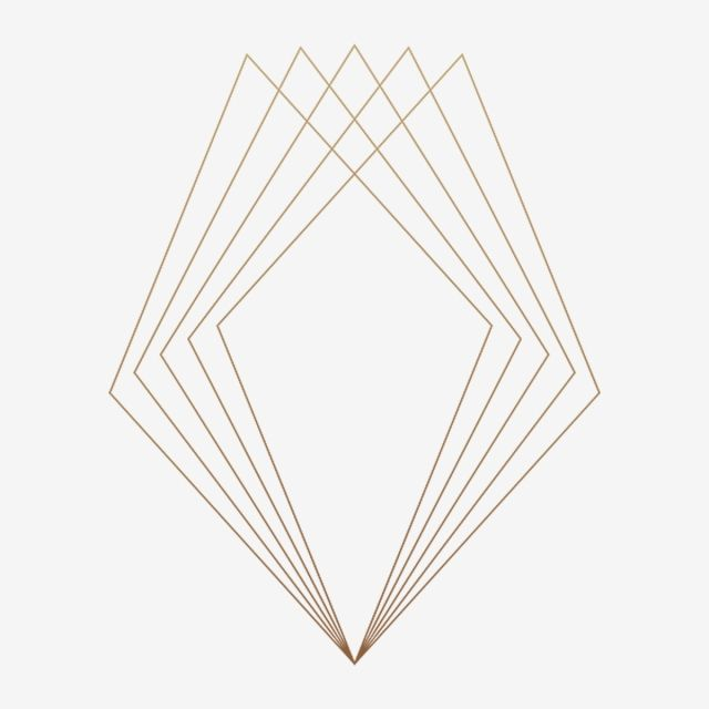 Gold Style Geometric Frame Geometric Frame Gold Png Transparent Clipart Image And Psd File For Free Download Frame Border Design Geometric Background Geometric Lines