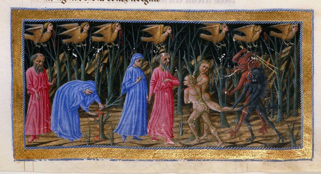 14th-Century Illuminations for Dante's Divine Comedy | The Public Domain Review