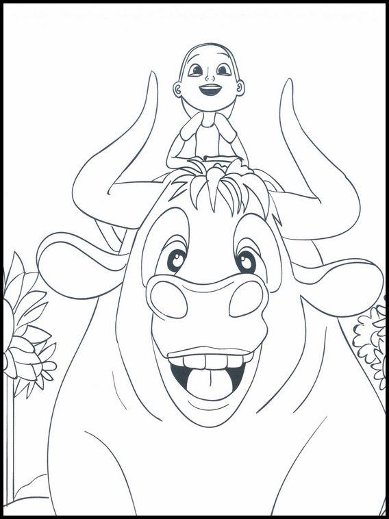 Dibujos para Colorear. Dibujos para imprimir y pintar Ferdinand 9 ...