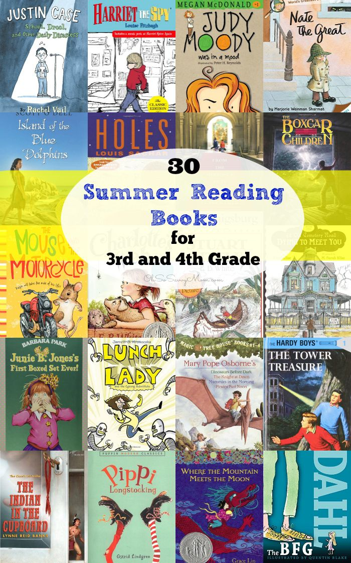 30 Summer Reading Books For 3rd And 4th Grade Books Books