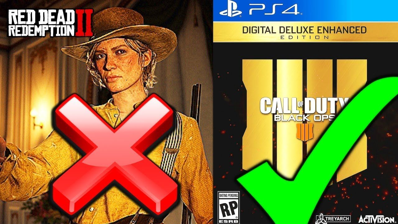 Black Ops 4 And Battlefield 5 Will Destroy Red Dead Redemption 2