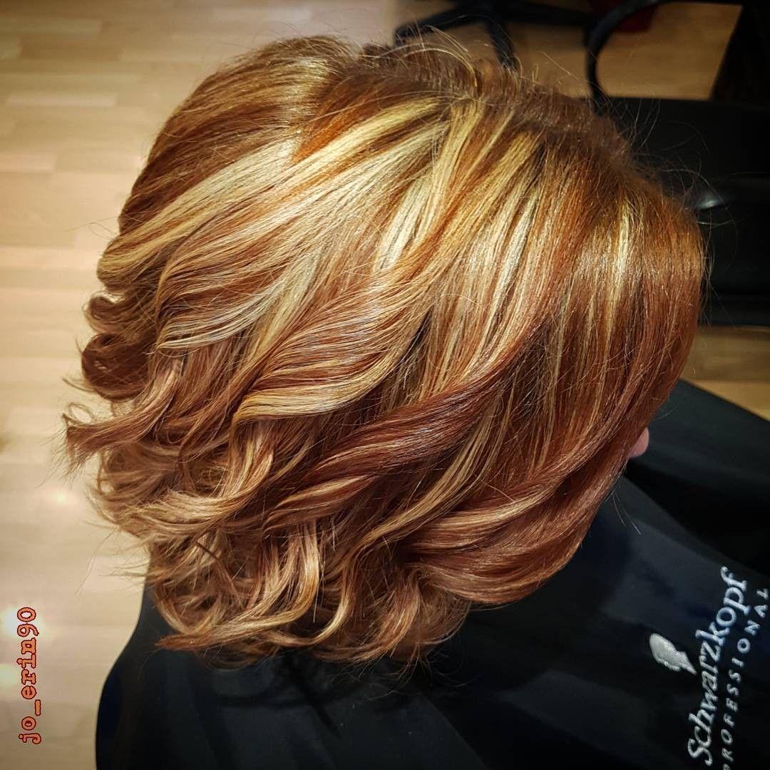 Sliced blonde highlights my work hairstyles pinterest blondes
