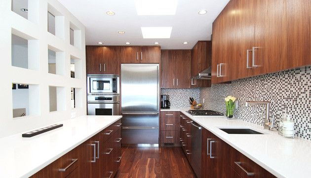 Best Spring Bay Mid Century Modern Modern Kitchen 400 x 300