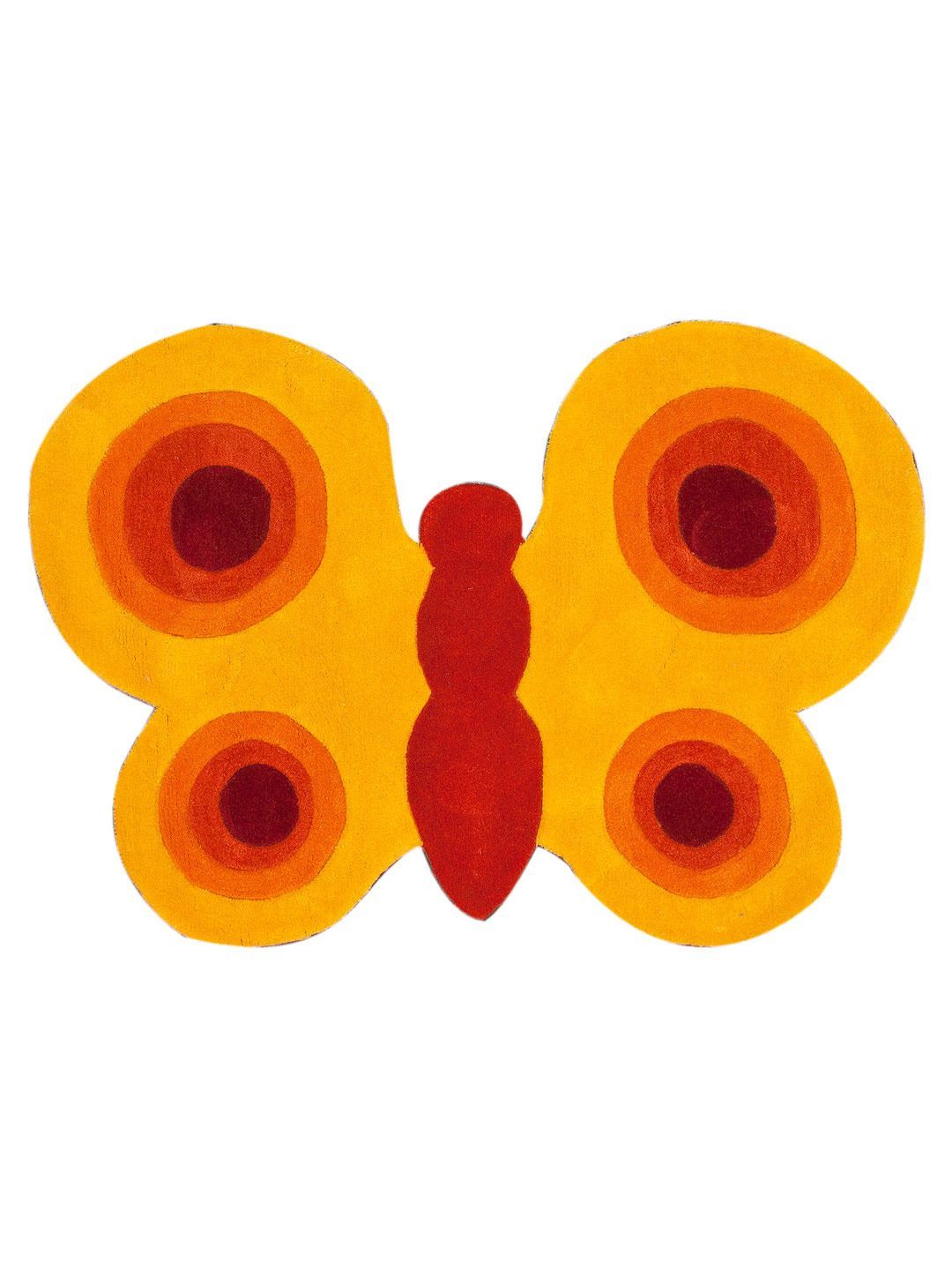Butterfly Hand-Tufted Rug  RugHome #Rugs