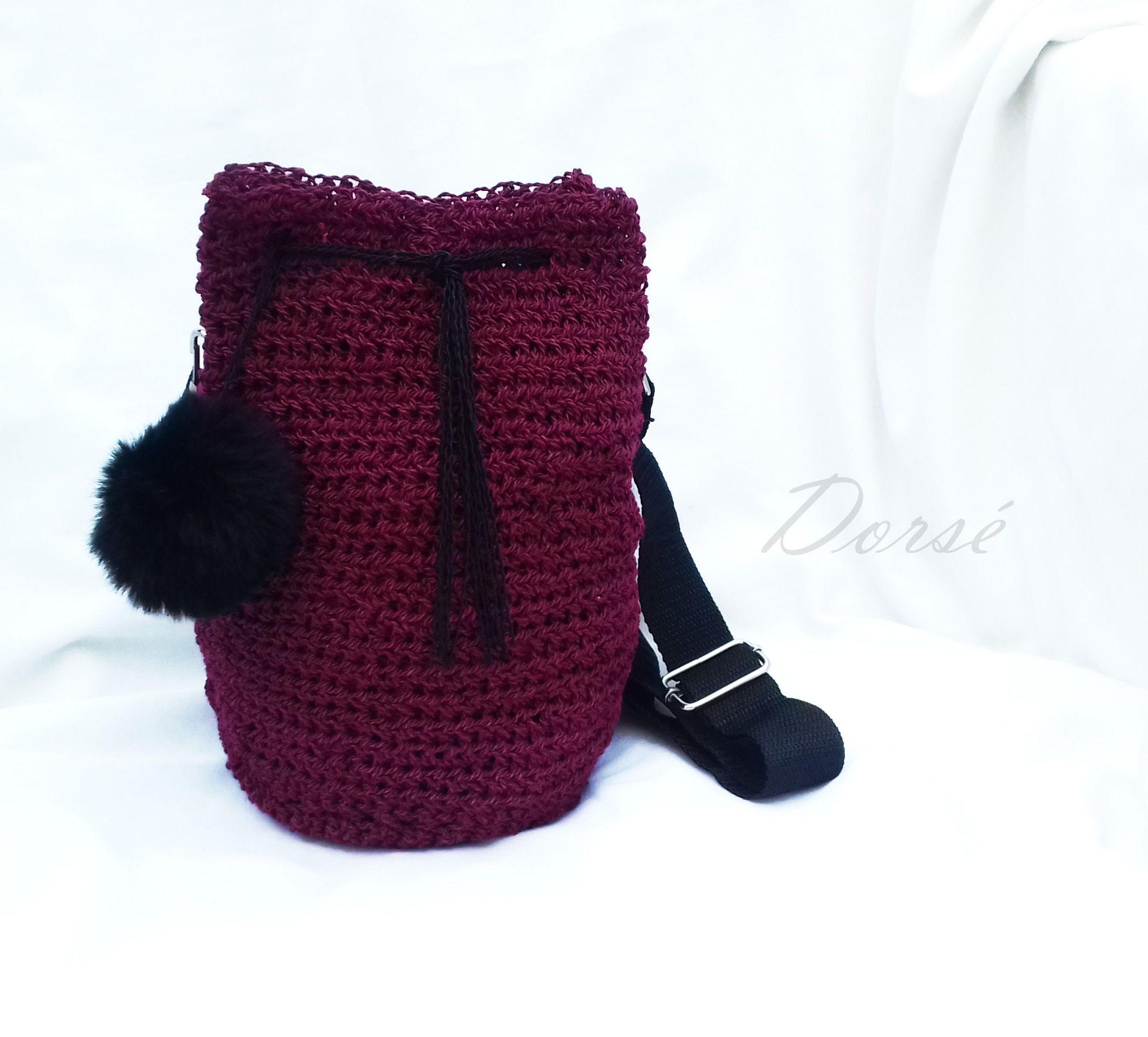 DORSÉ Hungary 2018 Autumn Winter Crochet bag