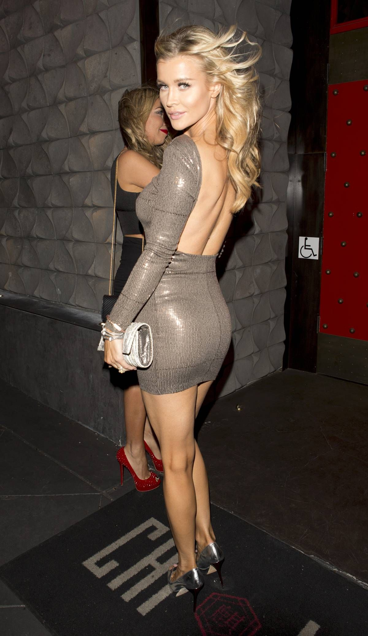 pictures Joanna krupa see through dress to impress