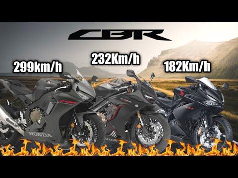57 Honda Cbr 250rr 650r 1000rr Fireblade Top Speed Series R 2019 Youtube Youtube Honda Honda Cbr