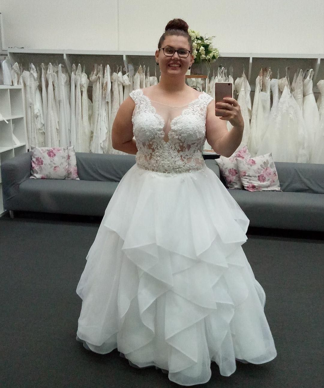 Custom Made Plus Size Bridal Gowns
