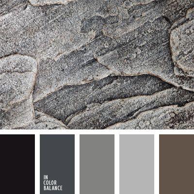Esta paleta incluye colores neutros muy interesantes que for Paleta colores gris