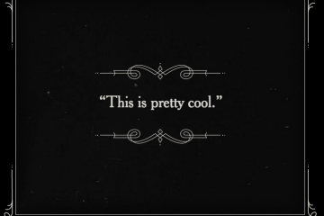 Silent Movies Gone Google Browser Lets Users Diy Title Cards Title Card Silent Movie Silent Film