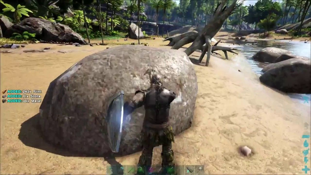 Ark How To Get Metal Early In The Game Ark Metal Games