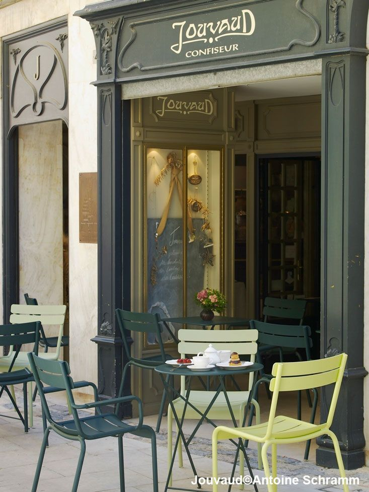 Fermob chairs, Jouvaud Pâtisserie | Carpentras, France | Relevant ...