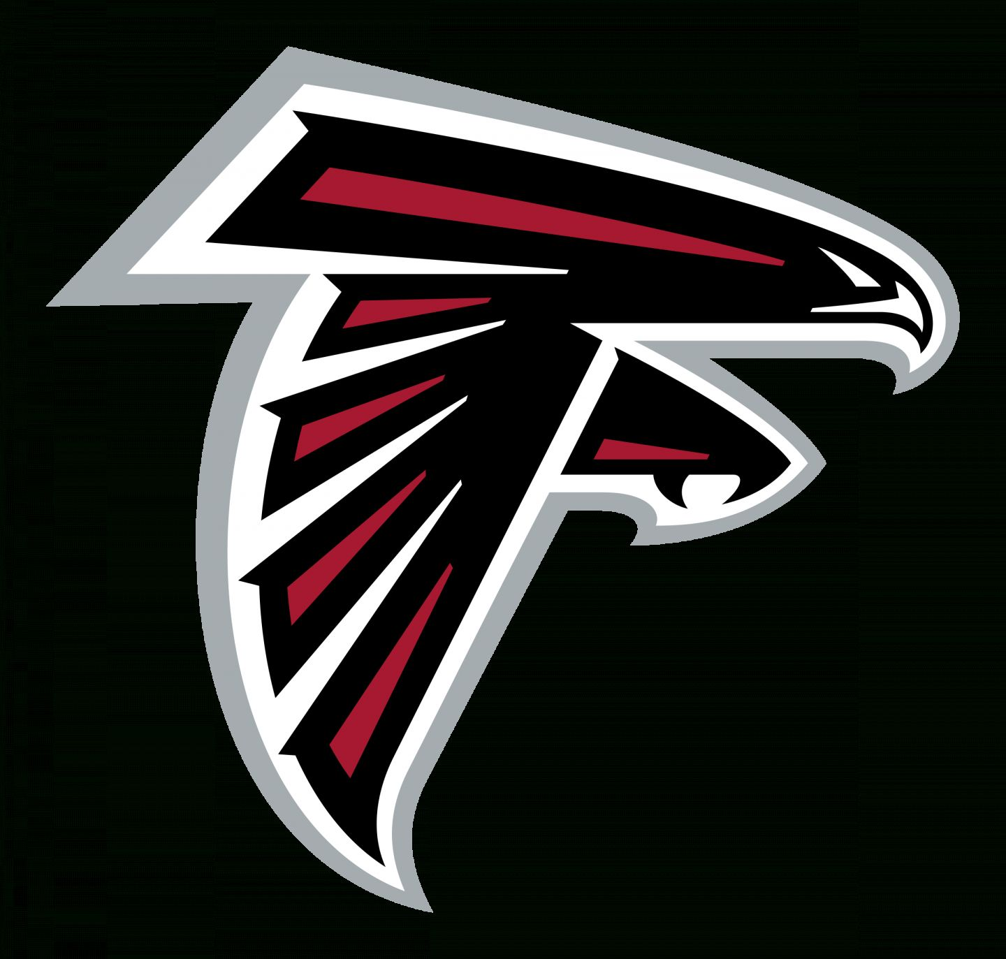 17 Atlanta Falcons Vector Logo In 2020 Atlanta Falcons Logo Falcon Logo Atlanta Falcons