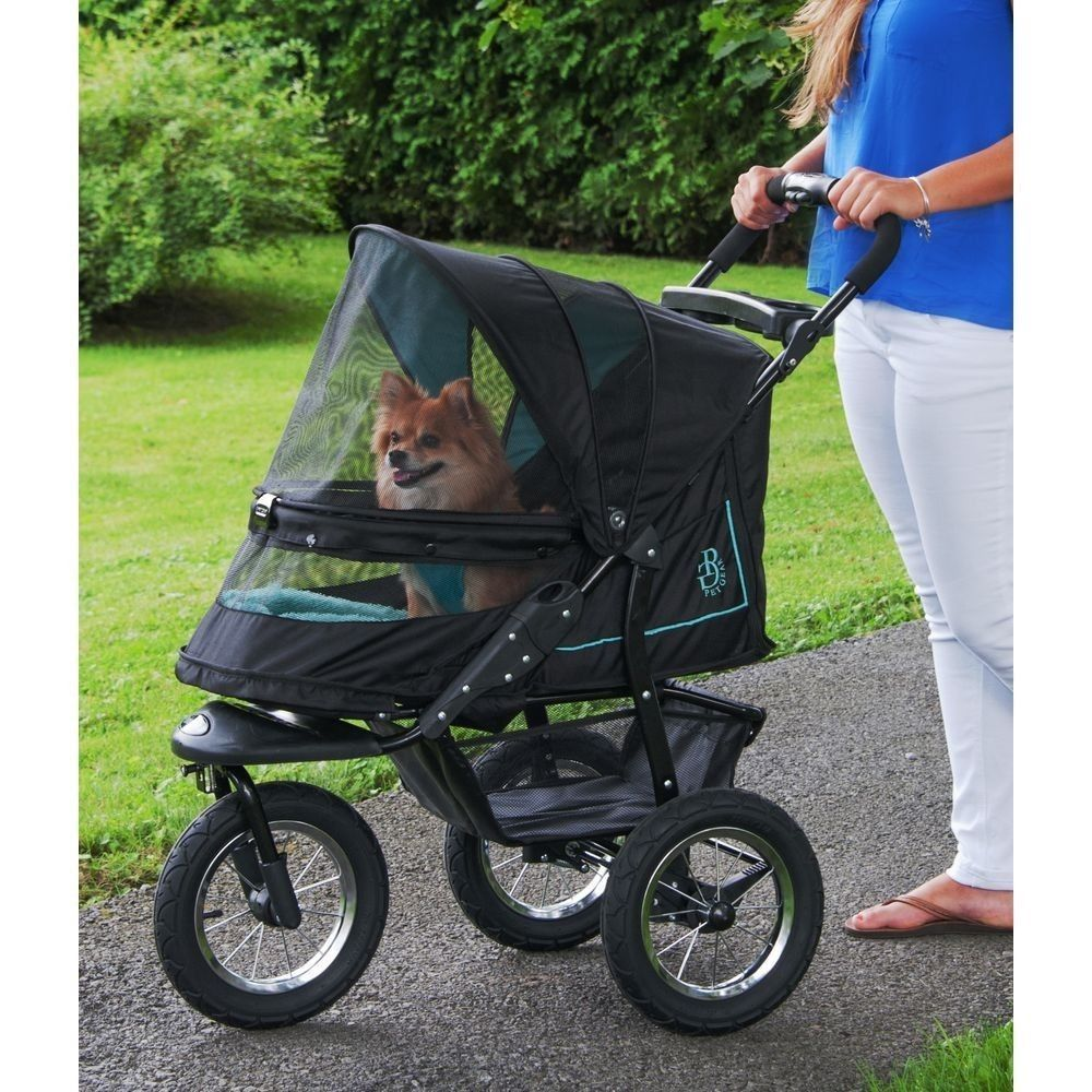 72c0c235f4e NEW Pet Gear NV NO ZIP Dog Cat Jogger Stroller w Weather Cover and Plush Pad