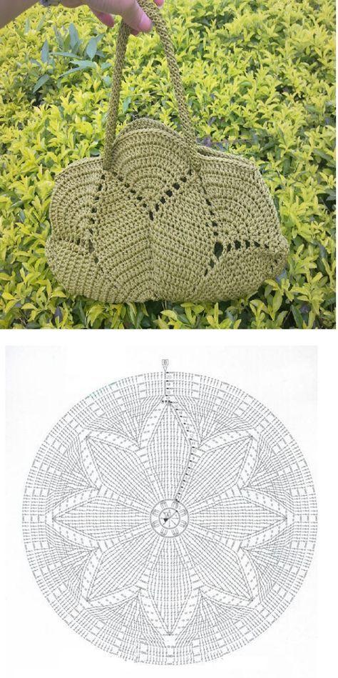 Bolsa de crochê | Anette | Pinterest | Bolsos, Patrones y Ganchillo