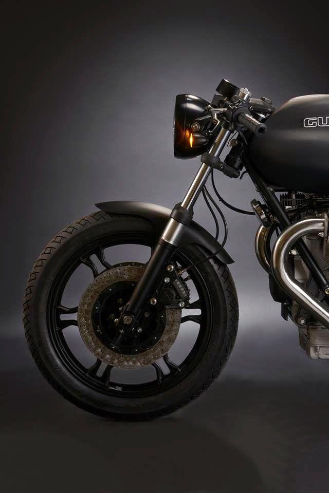 """Racing Cafè: Moto Guzzi """"Bullet 1000"""" by HTMoto"""
