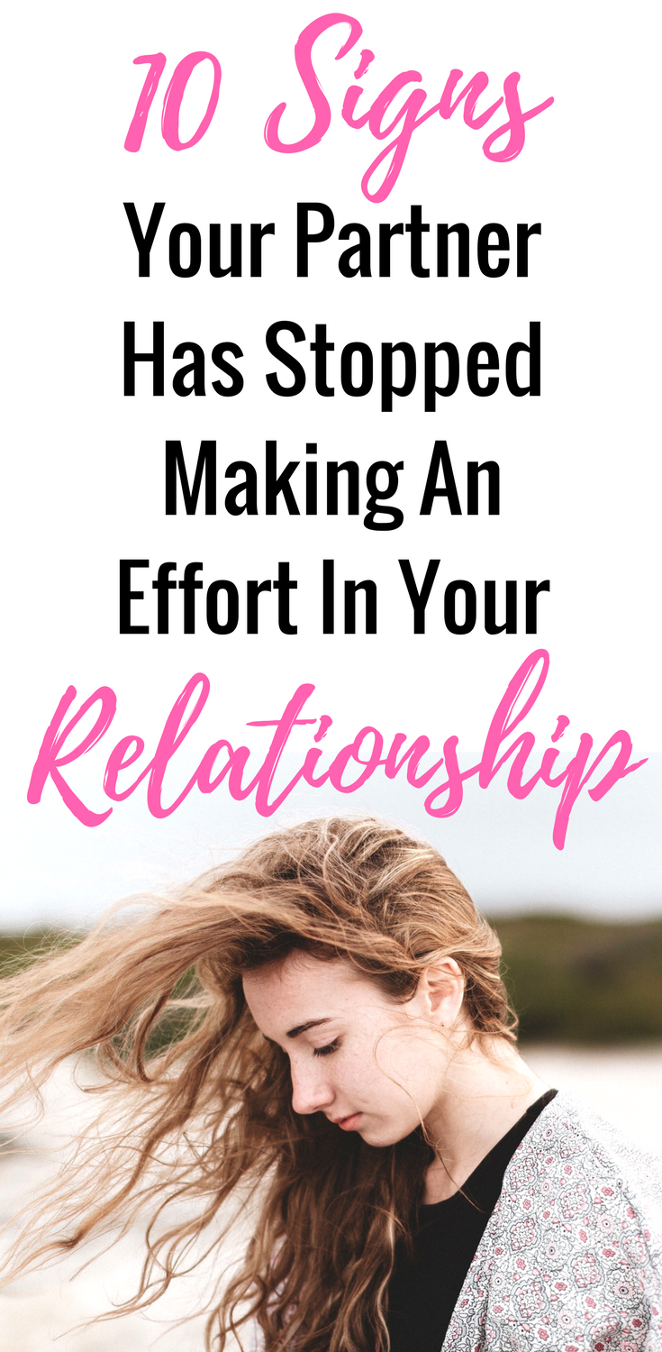 10 signs your relationship is over