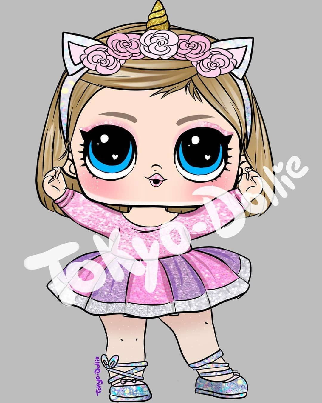 Lolsurprise Lolcustom Lolsurprisecustom Drawing Forfun Cute Illustration Artwork Tokyodollie Lolsurprise Lolsurprisefa Bonecas Desenhos Kawaii Lol
