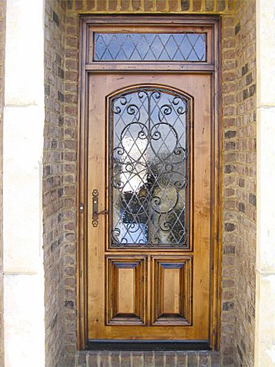 Front Door With Windows Country This Country French