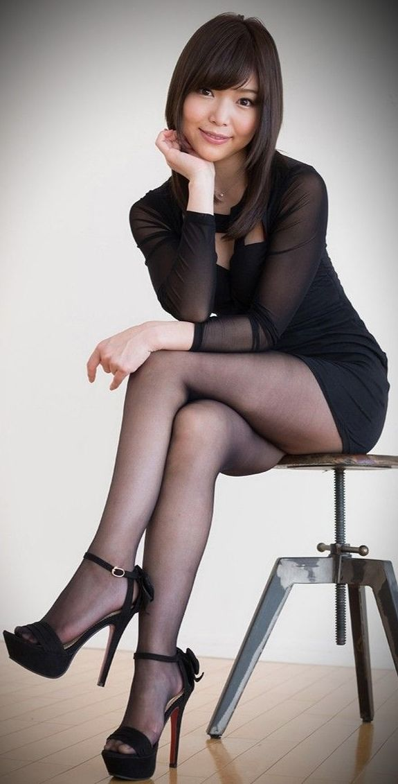 Leather Leggings High Heels