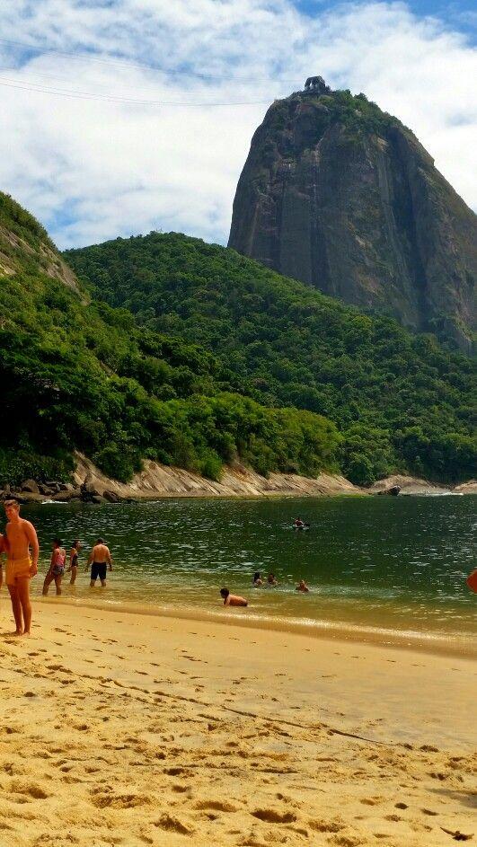 Praia Vermelha Rio de Janeiro Brazil... January  2016'