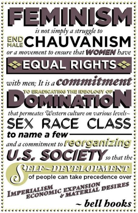 Feminism Is Not Simply A Struggle To End Male Chauvinism Or A