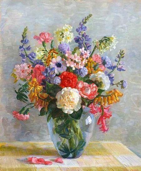 Nora Heysen Spring Flowers 1938 Australian Art Pinterest Flower Painting Flower Art Floral Painting