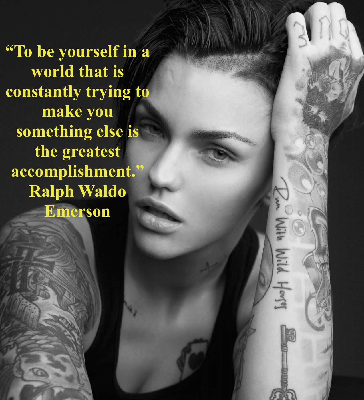 Braces Quotes: Ruby Rose, Braces Inspiration