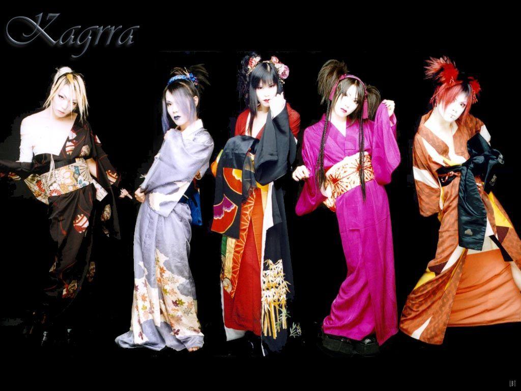Kagrra Visual kei, Musik tradisional, dan Musisi