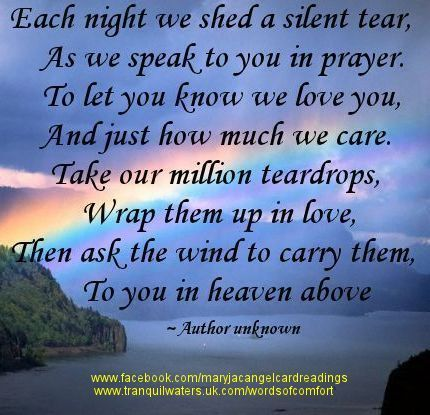 Words of fort Bereavement Poems Bereavement Quotes Page 2