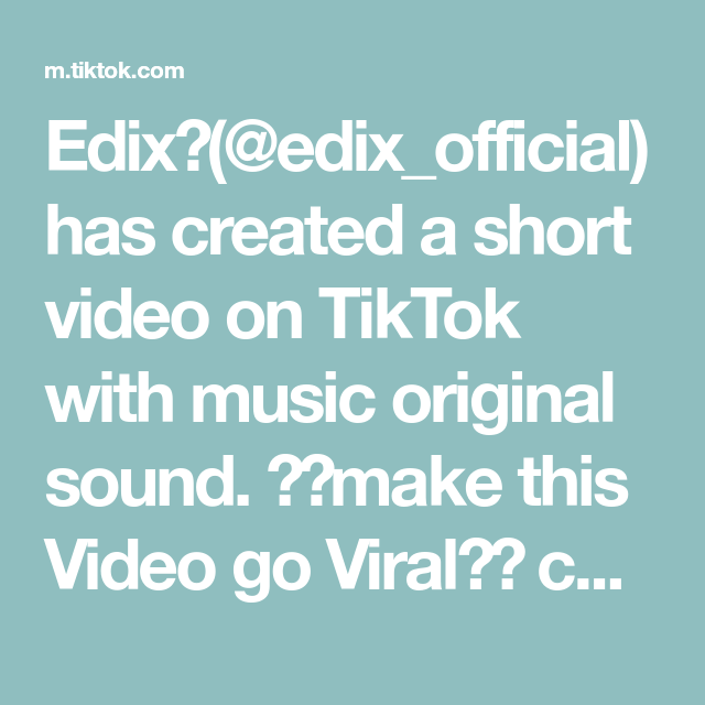 Edix Edix Official Has Created A Short Video On Tiktok With Music Original Sound Make This Video Go Viral Cus I Love This Song Narutoshippuden Edit