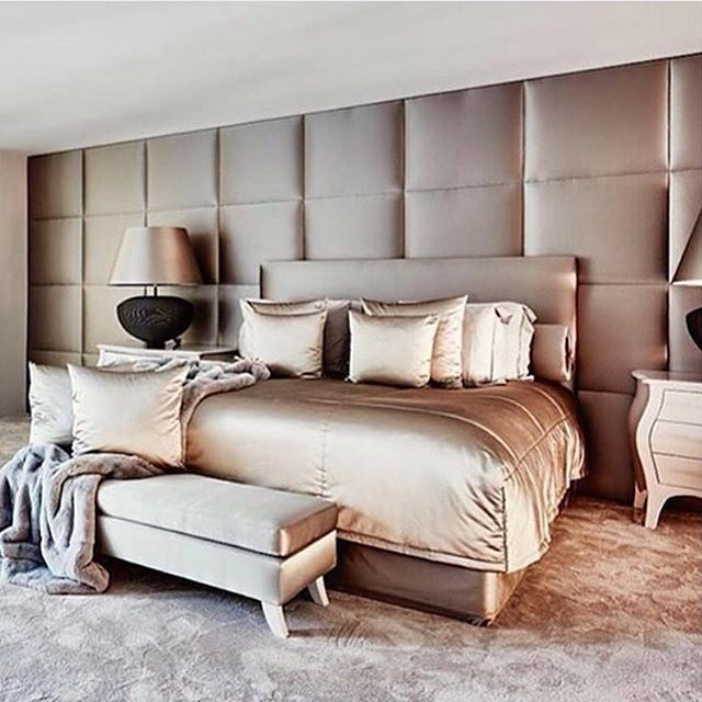 Warm taupe slaapkamer. duin-interior.com #DUIN #LUXURY #INTERIOR ...