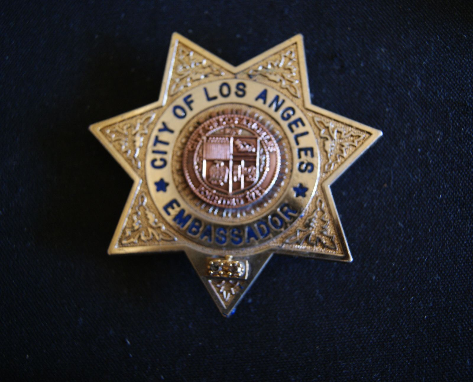 City of los angeles police badge police badge ambassador