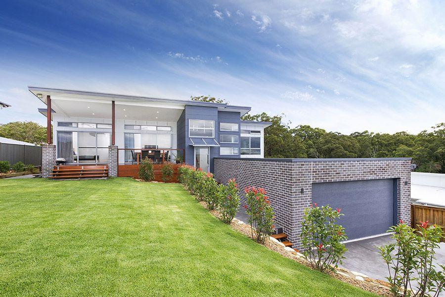 Landscaping Around In Ground Pool Landscapingequipment Houses On Slopes House Plans Australia House Design