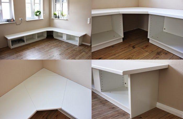 Wir bauen ein Haus Ikea Hack Tutorial  Essecke  Unser Haus  Essecke Ikea und Eckbank kche