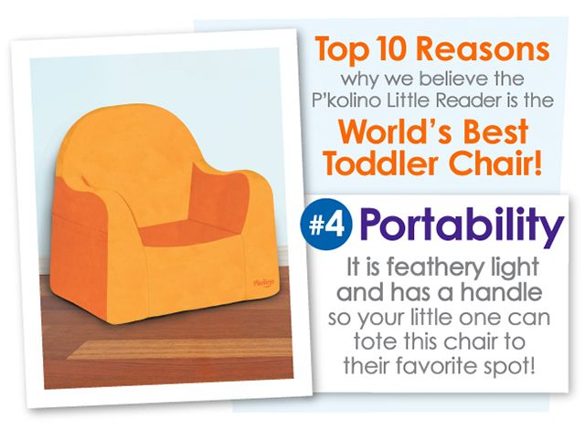 Top 10 Reasons Why We Believe The P Kolino Little Reader Is The World S Best Toddler Chair Www Pkolino Com Pkolino Littler Toddler Chair Toddler Kids Room