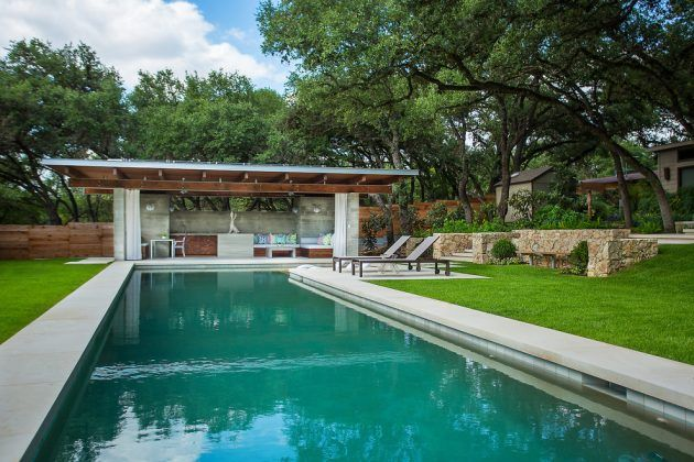 15 Spectacular Contemporary Swimming Pool Designs That Your ...