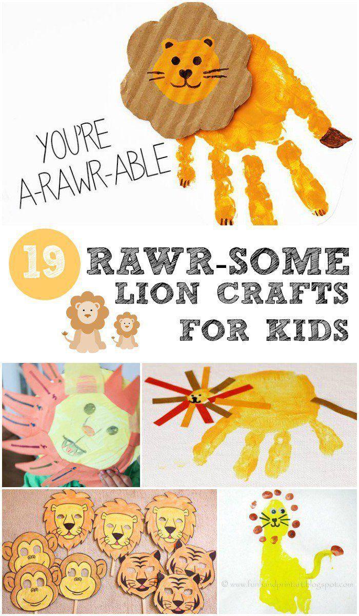 19 Rawr Some Lion Crafts For Kids Daycare Ideas Pinterest Lion