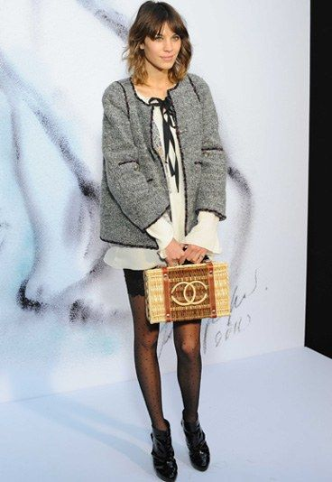 ca7332d207c0ba sweet Alexa Chung Style, Look Magazine, Evolution Of Fashion, Basket Bag,  Fashion