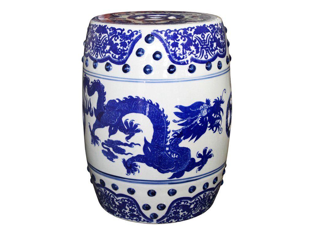 Porcelain China Chinese Blue Amp White Porcelain Dragon