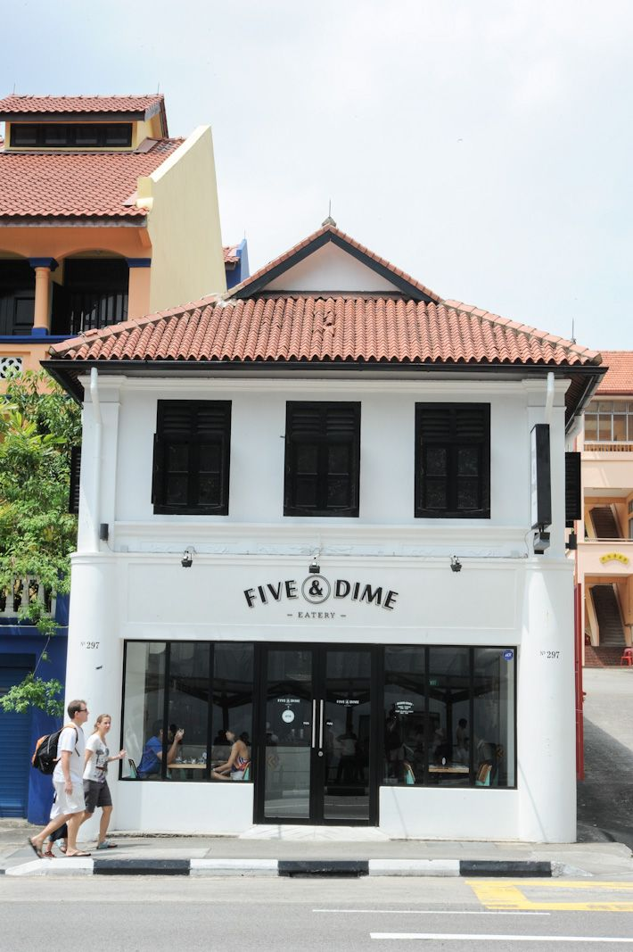 Distinct Architecture Cool Cafe Valley Road Singapore
