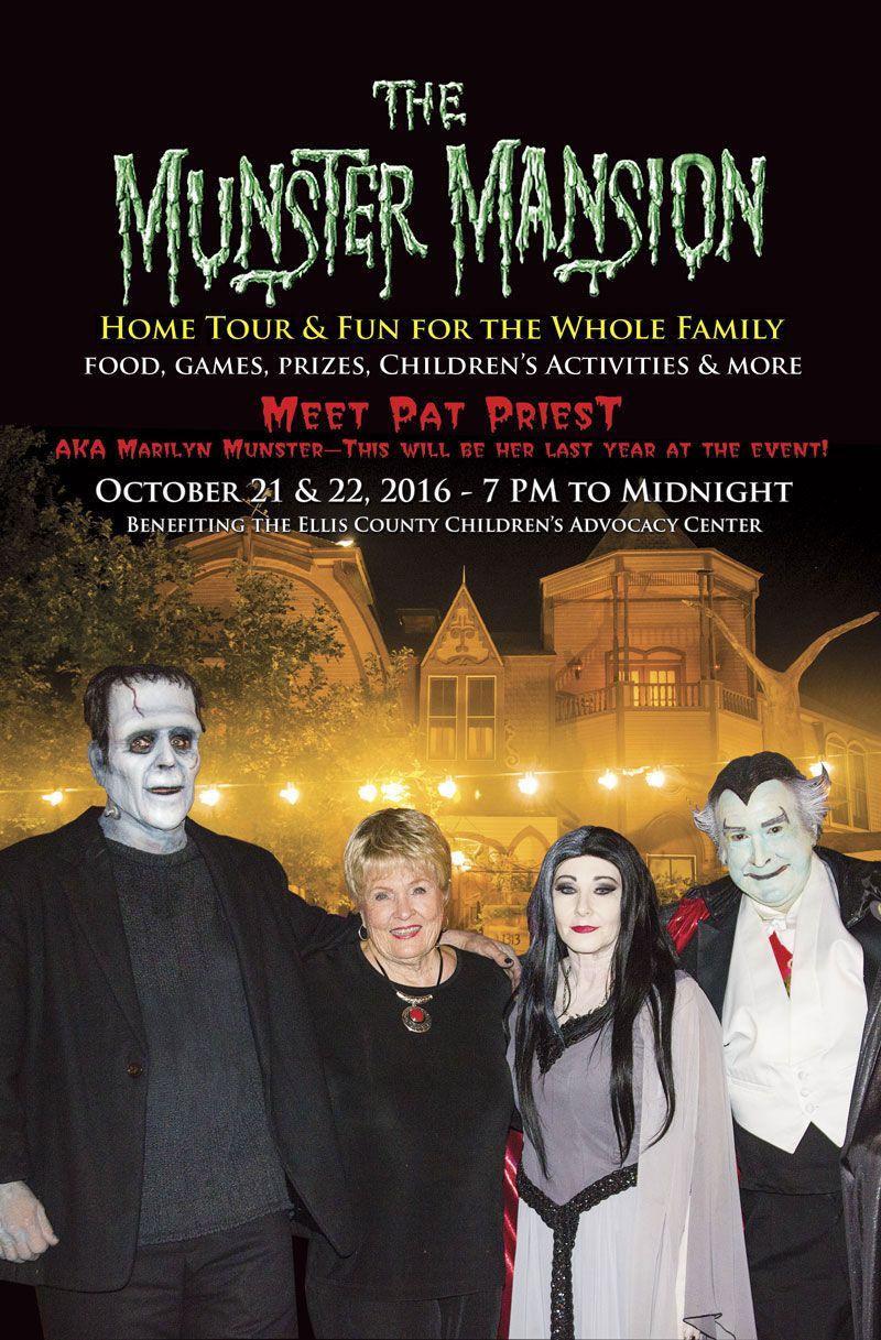 Munster Mansion Munser Mansion Waxahachie Texas