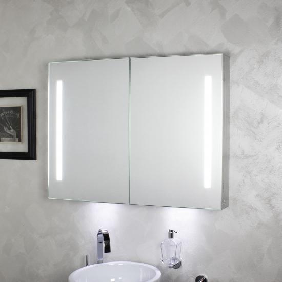 Inspirational Spiegelschrank mit Licht Koh I Noor Riflessi