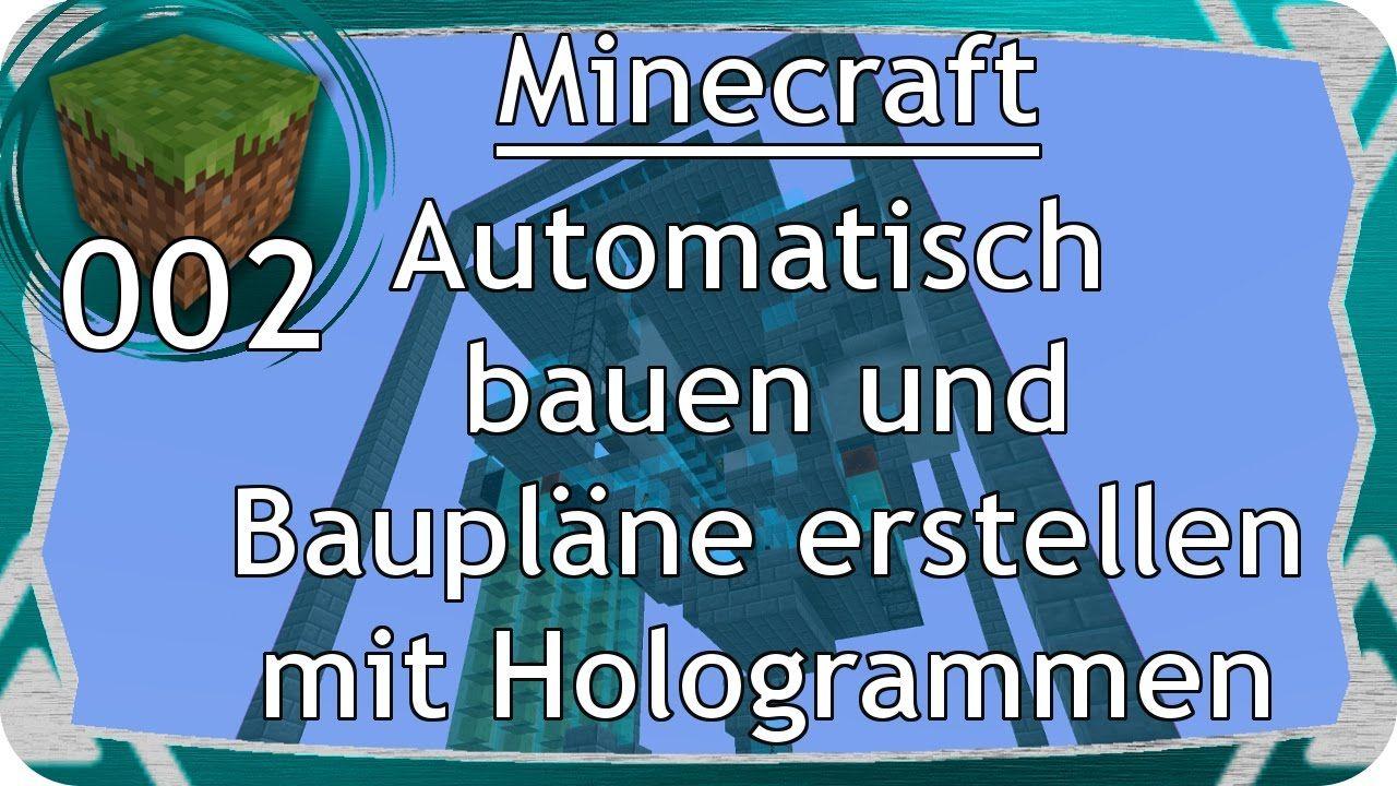Minecraft Automatisches Bauen Nur Wie Gaming Spiele Pinterest - Spiele in minecraft bauen