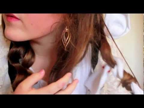 Hair Tutorial: No Heat Sock Curls