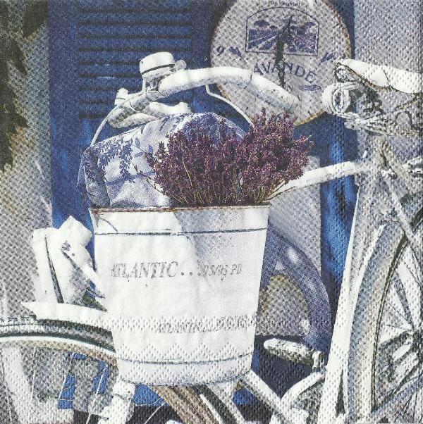 Servítka Leto s levanduľou