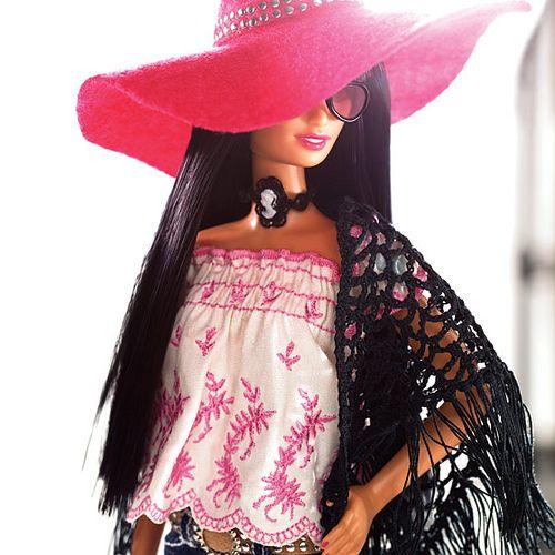 Anna Sui Boho Barbie by Designer_Barbie, ...... I LOVE this Barbie!