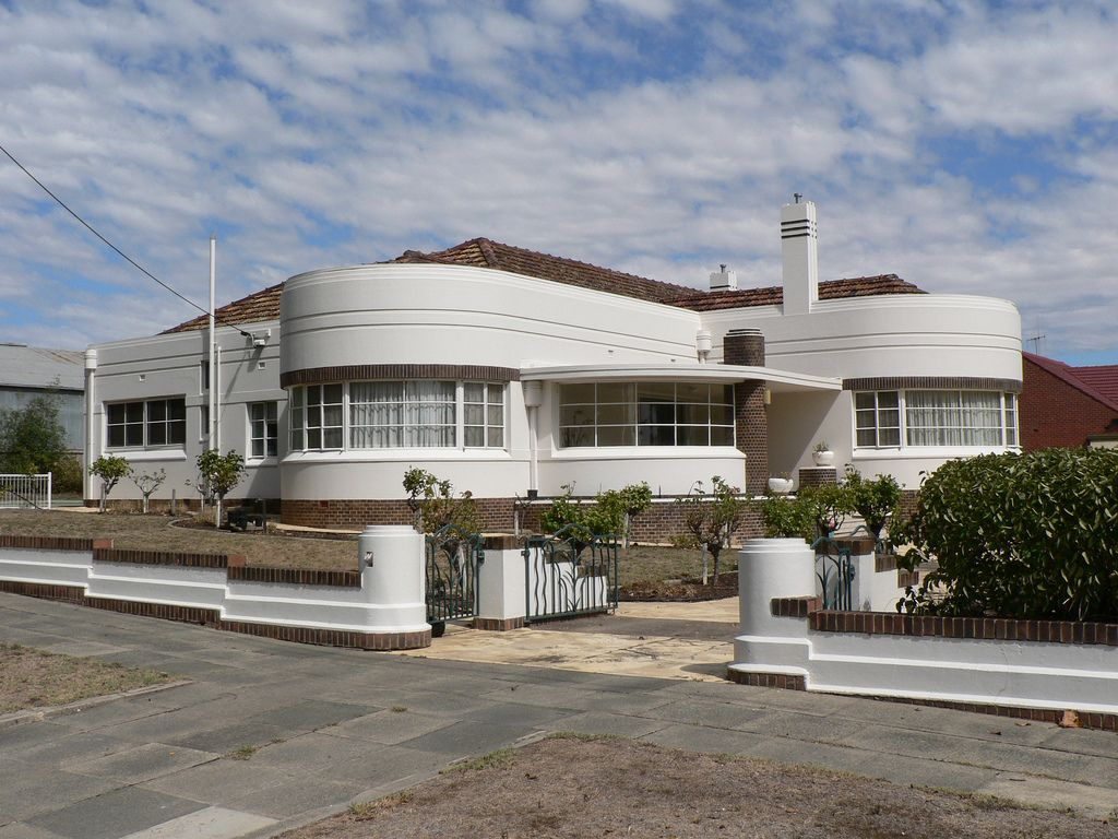 Art deco house designs australia house design for Art deco house plans