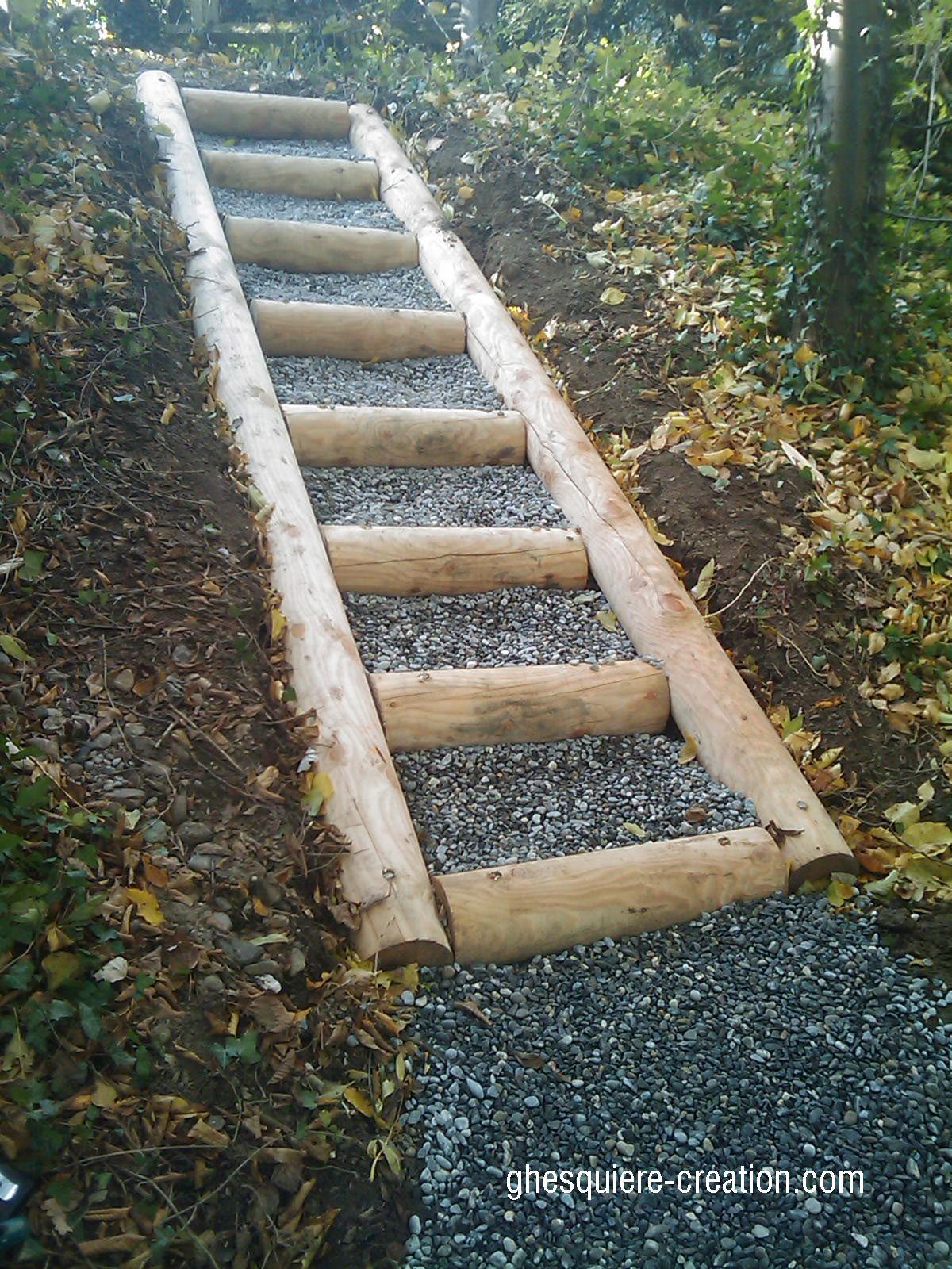 Super Escalier-en-meleze | Extérieur. aménag. Et déco | Pinterest  UM35